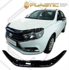 Дефлектор капота ВАЗ Lada Vesta 2180, 2181 2015–н. в. (Мухобойка)