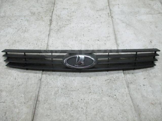 Решетка радиатора верхняя. Лада Приора, 2170, 2171, 2172, 21728 BAZ21114, BAZ21116, BAZ21126, BAZ21127