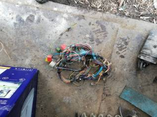 Электропроводка панели