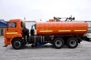 Машина комбинированная уборочная МД-532(ПМ+ПЛ+ЩО ) поливомоечная на шасси Камаз 65115-е5