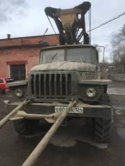 Урал 4320. Буровая на базе УРАЛ, 10 850куб. см., 6 650кг.