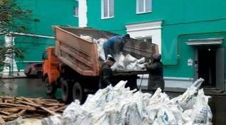 Вывоз мусора, услуги самосвалов от 2 до 15 м3