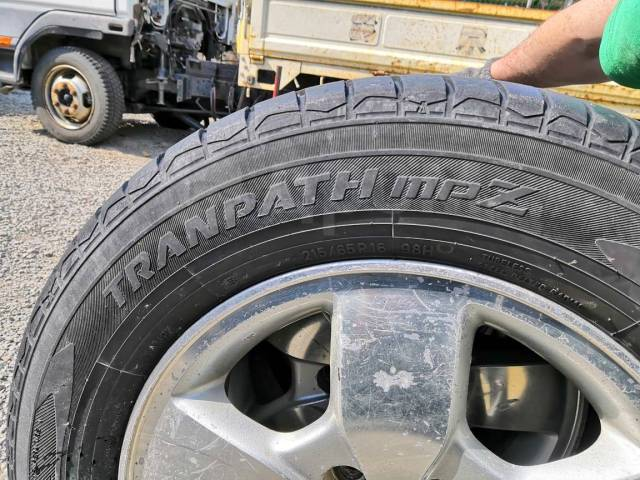 Toyo Tranpath mpZ. летние, 2015 год, б/у, износ 10%