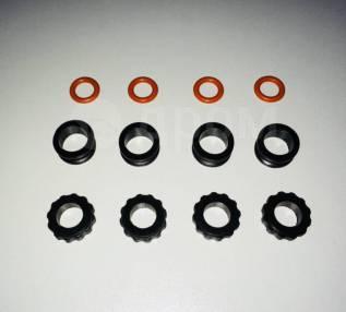 Кольцо уплотнительное топливной форсунки Mazda (верхнее - нижнее)