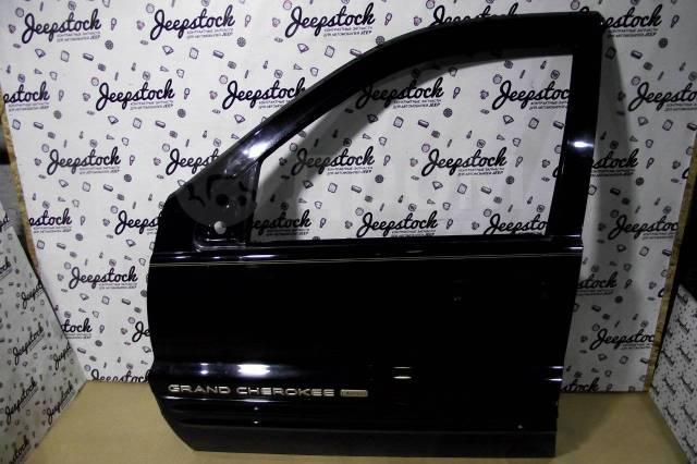 Передняя левая дверь (черная, голая) Jeep Grand Cherokee WG-WJ 55137059AE