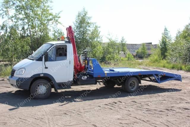ГАЗ 3310. Автоэвакуатор ГАЗ-33106 с КМУ Amco Veba 807 и ломаной платформой, 4 430куб. см., 4 420кг., 4x2. Под заказ