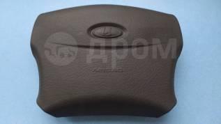 Подушка безопасности водителя накладка airbag Лада Приора