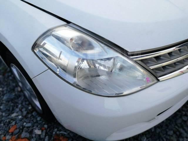 Фара. Nissan Tiida Latio, SC11, SJC11, SNC11, SZC11 Nissan Tiida, C11, C11X, NC11 HR15DE, HR16DE, MR18DE