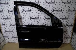 Передняя правая дверь черная 1999г, (голая) Jeep Grand Cherokee WG-WJ