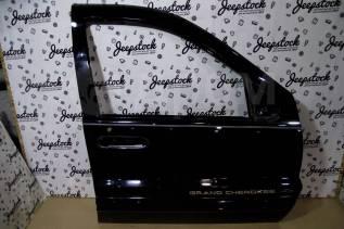 Передняя правая дверь черная 2000г, (голая) Jeep Grand Cherokee WG-WJ