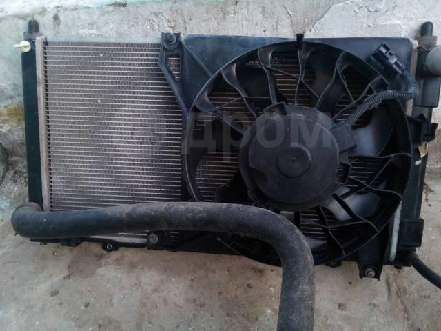 Радиатор охлаждения двигателя. Лада Калина Кросс, 2194 Лада Гранта, 2190, 2191 Лада Калина, 1117, 1118, 1119, 2192, 2194 BAZ11186, BAZ21127, BAZ11183...