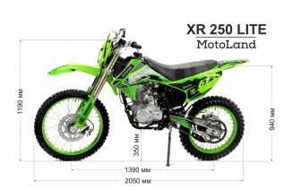 Motoland XR 250 Lite. 250куб. см., исправен, без птс, без пробега