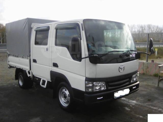 Mazda Titan. Продам двухкабинник. Бензин + газ, 2 000куб. см., 1 000кг., 4x2