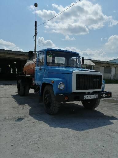 ГАЗ 3307. Продам газ 3307 асенезатор, 3 000куб. см.