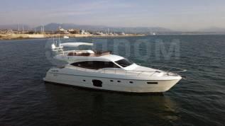 Аренда яхты VIP-класса Ferretti 630 Luxury