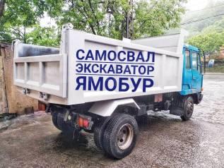 Вывоз грунта, мусора, хлама, доставка скалы, щебня, песка, услуги самосвала