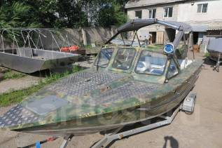 Лодка алюминиевая KING Fisher 580 + мотор Mercury F150 PRO XS L