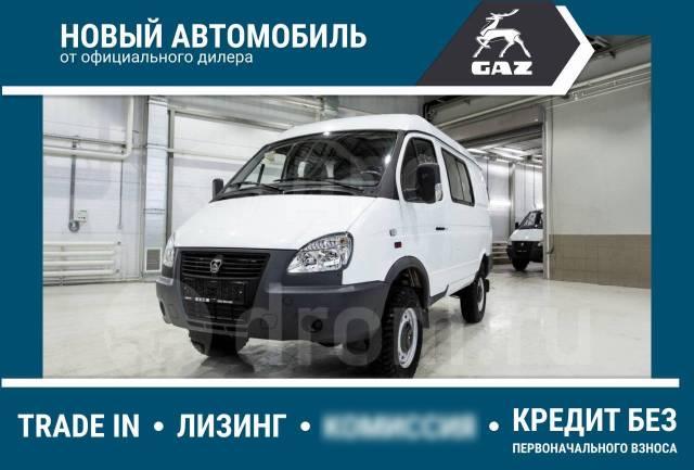 ГАЗ 322170. Газель Бизнес ГАЗ-32217, Микроавтобус 8+1 4х4, 8 мест, В кредит, лизинг