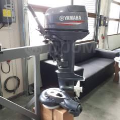 Yamaha. 30,00л.с., 2-тактный, бензиновый, нога S (381 мм), 2015 год