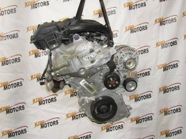 Контрактный двигатель HR16DE Nissan Tiida Note Qashqai Juke Cube 1,6i HR15DE