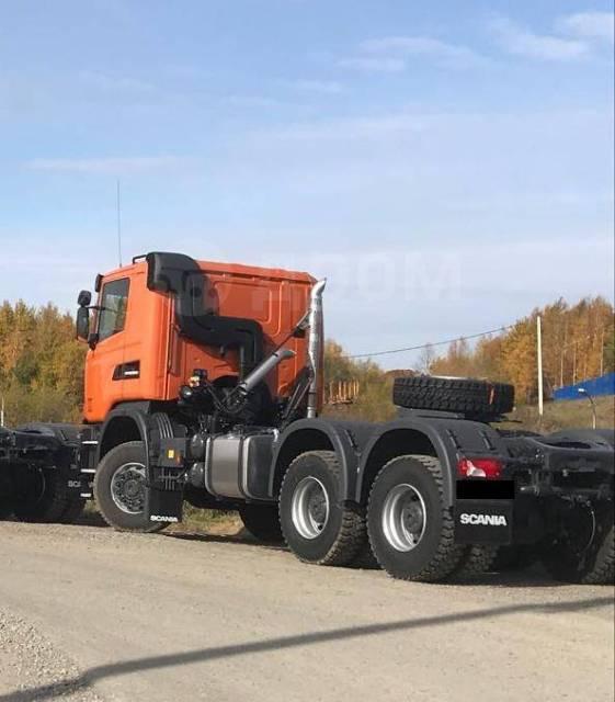 Scania G480. Продаётся седельный тягач , 6x6