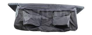 Сумка на сиденье с мягкой вставкой, серая, 1100х200х850 мм