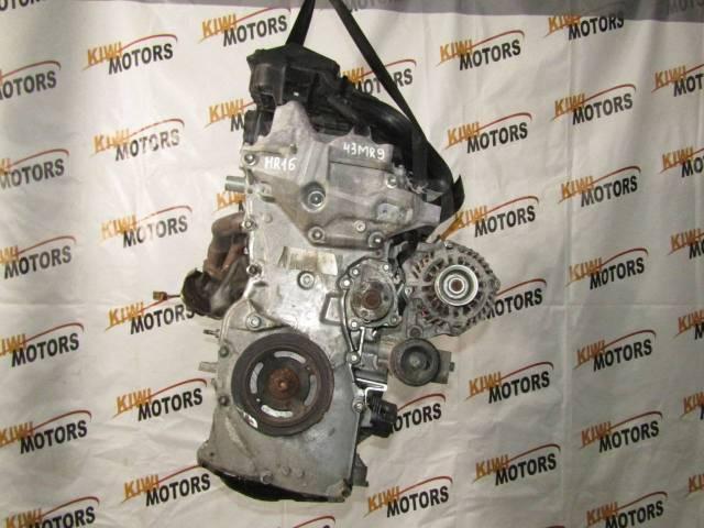 Контрактный двигатель HR16DE Nissan Qashqai Tiida Note Cube Micra