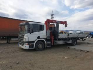 Scania. Продам бортовой грузовик С КМУ, 12 000куб. см., 11 999кг., 4x2