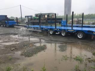 ЧелябДорМаш. Раздвижной низкорамный трал 3 оси 40 тонн ЧДМ 943834-0000010R в Челяби, 40 000кг. Под заказ