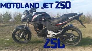 ***_Дорожный Мотоцикл MOTOLAND JET 250_***, 2016