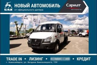 ГАЗ 330232. ГАЗ-330232 с бортовой платформой 5+1 Мест, 2 700куб. см., 1 500кг., 4x2