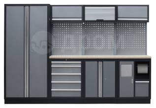 АвтозапчастьНабор мебели гаражной металлической Mebox комбинация COM 3