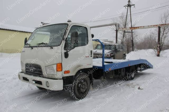 Hyundai HD78. Автоэвакуатор ломаная платформа (5450-6250 мм. ), 3 933куб. см., 4 775кг., 4x2