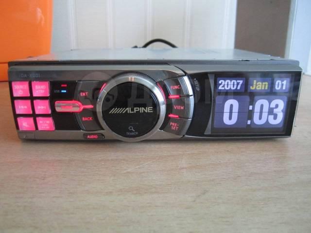verkoopprijzen ziet er geweldig uit voorbeeld van Процессорный Цифровой медиа-ресивер Alpine iDA-X001 ...
