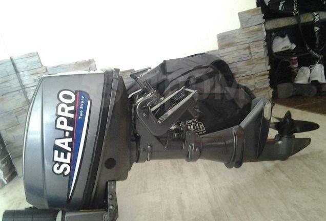 Sea-Pro. 9,90л.с., 2-тактный, бензиновый, 2015 год