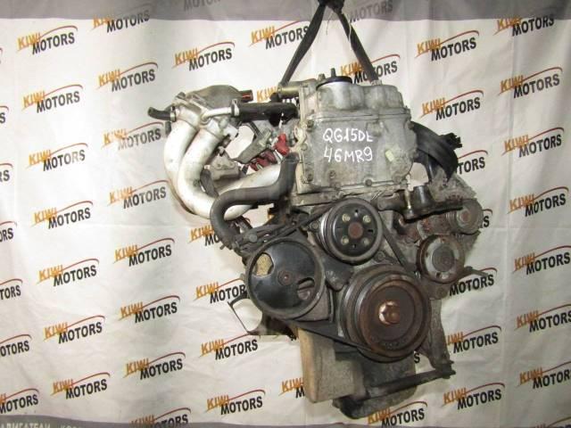 Контрактный двигатель Nissan Almera Primera 1.5 i QG15DE QG15DE