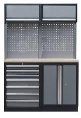 АвтозапчастьНабор мебели гаражной металлической Mebox комбинация COM 5
