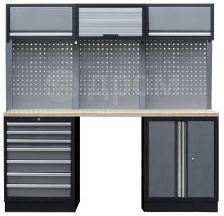 Комплект металлической гаражной мебели Mebox COM 8