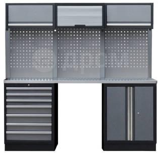 Комплект металлической гаражной мебели Mebox COM 9