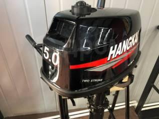 Hangkai. 5,00л.с., 2-тактный, бензиновый, нога S (381 мм), 2019 год