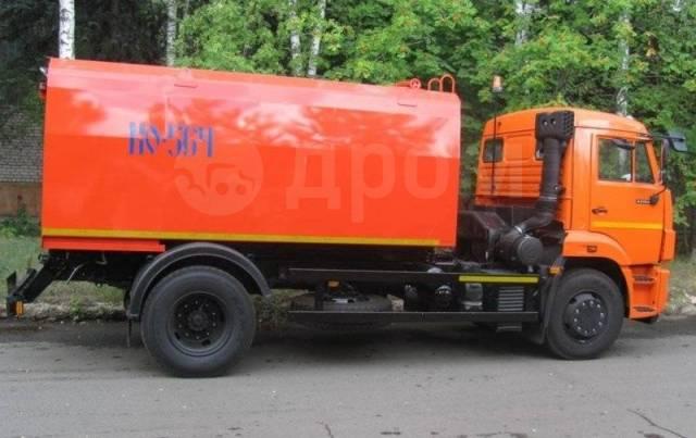 Коммаш КО-564-20. Каналопромывочная машина КО-564-20 (шасси Камаз 43253-3010-28)