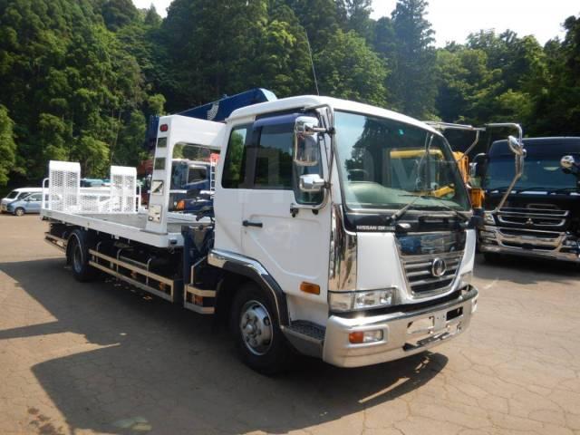 Nissan Diesel Condor. Манипулятор Nissan Condor 2000 съезжающая платформа, 6 920куб. см., 5 000кг., 4x2. Под заказ