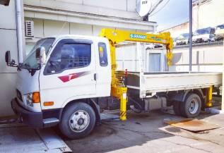 Hyundai Mighty. Продам грузовик (манипулятор)! Срочно , 3 500кг., 4x2
