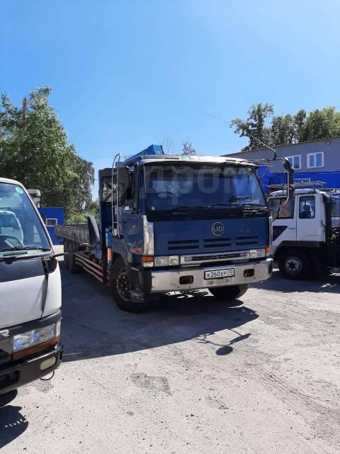 Nissan Diesel. Продаётся манипулятор борт 12 тн. кран 4. бп по РФ, 15 000куб. см., 12 000кг., 6x4