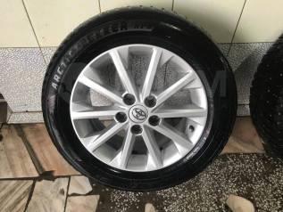"""Продам комплект зимних колёс. 6.5x16"""" 5x114.30 ET45 ЦО 60,1мм."""