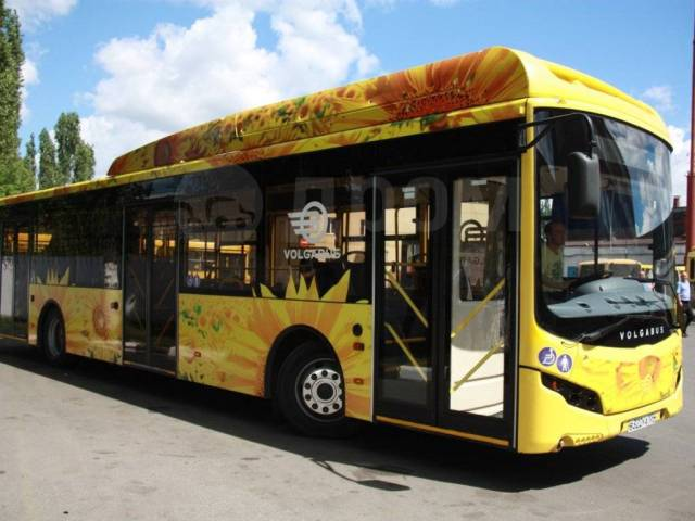 Volgabus. Автобус городской низкопольный Волгабас Ситиритм 12 Метан, 113 мест. Под заказ