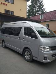 Аренда, заказ автобуса с водителем Toyota Hiace