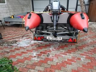 Лодка ПВХ Меркури шторм 430
