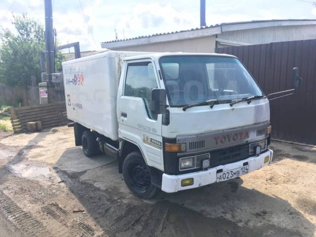 Toyota ToyoAce. Toyota toyoase 1993 3l, 3 000 куб. см., 1 500 кг., 4x2