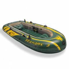 Лодка 3- местная Seahawk 3 295*137*43 см Intex. Бесплатная Доставка